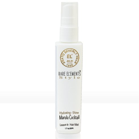 RARE EL'EMENTS Marula Cocktail Hydrating Shine Leave-In Hair Mist - 50ml