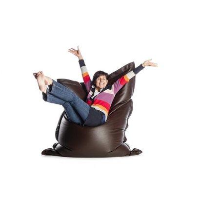 Sitonit Sit on It zitzak leatherlook donkerbruin