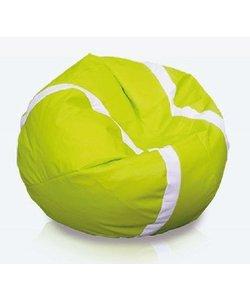 Tennisbal zitzak leatherlook Ø 105cm