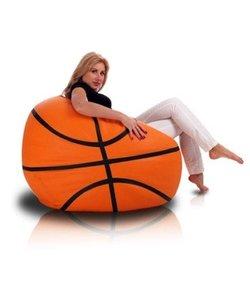 Basketbal zitzak leatherlook Ø 100cm