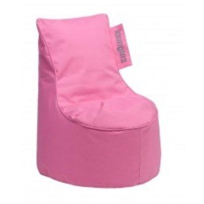 Loungies Loungies Chair Junior kinder zitzak roze