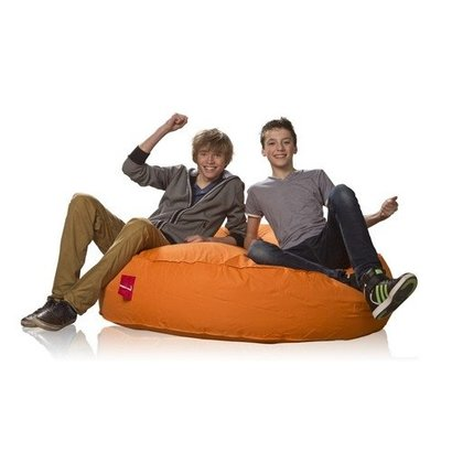 L&C beanbags L&C Donna Big Ø 138cm oranje
