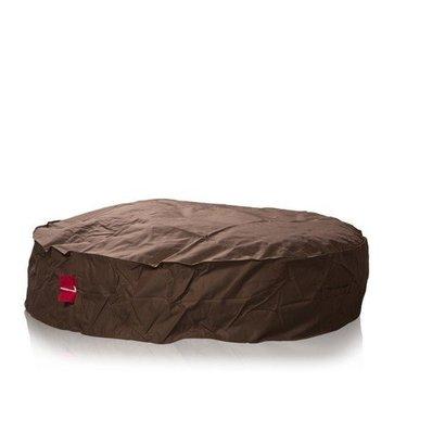 L&C beanbags L&C Donna Big Ø 138cm bruin