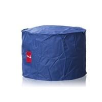 L&C beanbags L&C Roundy kobalt blauw