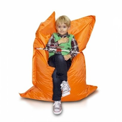 Bomba Kinderzitzak Bomba zitzak kind oranje 100x140cm