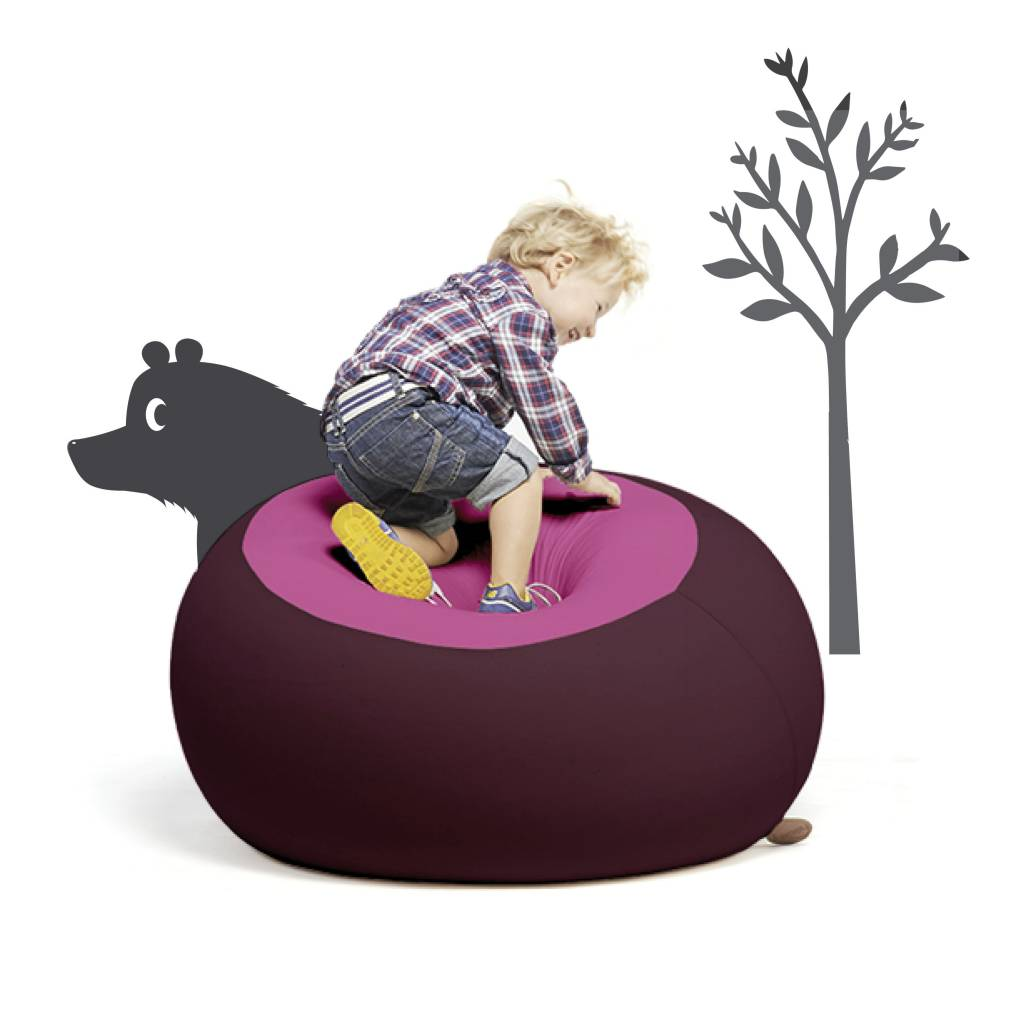 Terapy terapy stanley aubergine/roze   zitzakcenter