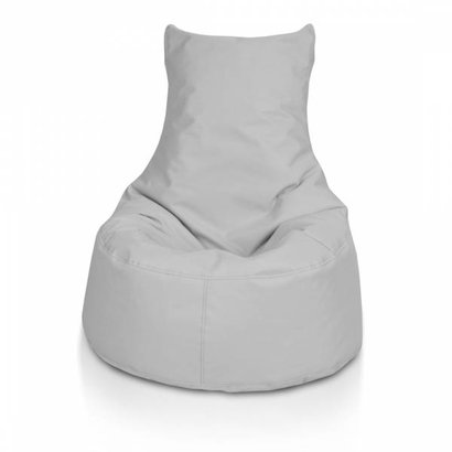 Bomba Bomba Chair zitzak stoel zilvergrijs