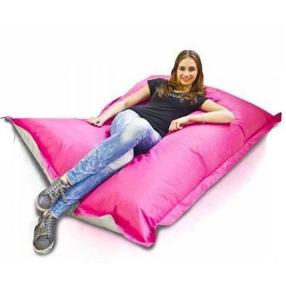 Bomba Bomba Colori zitzak roze/zilver 135x170cm