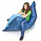 Bomba Colori zitzak blauw/blauw 135x170cm