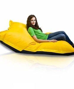 Bomba Colori zitzak geel/zwart 135x170cm