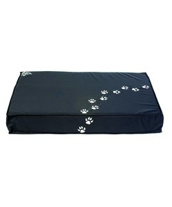 Sit on It Doggie hondenkussen grijs Footsteps