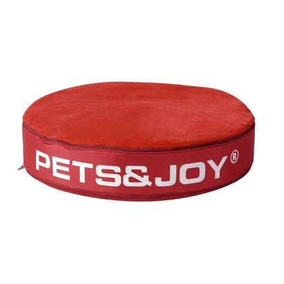 Sit&Joy Kattenkussen Pets&Joy kussen Ø60cm rood