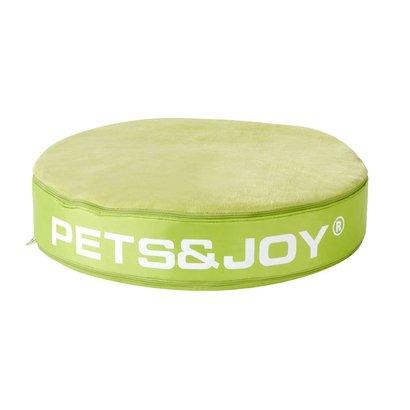 Sit&Joy Pets&Joy kussen Ø60cm lime