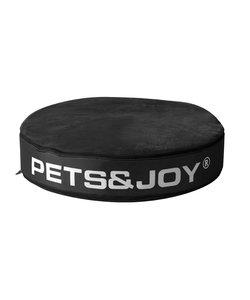 Kattenkussen Pets&Joy kussen Ø60cm zwart