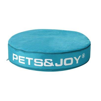Sit&Joy Pets&Joy kussen Ø60cm aqua