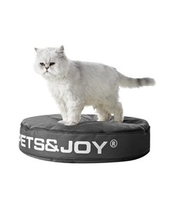 Kattenkussen Pets&Joy kussen Ø60cm antraciet