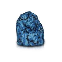 Bomba Bomba Relax zitzak camouflage blauw