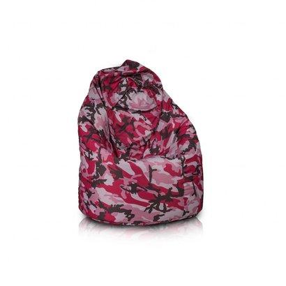 Bomba Bomba Relax zitzak camouglage roze