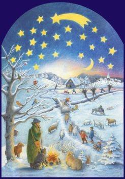 Adventkalender Wintertafereel (27400)