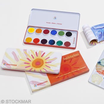 Stockmar Stockmar Plakkaatverf 12 kleuren