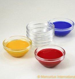 Glazen schaaltjes zonder deksel