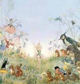 Poster Molly Brett The Flower Ballet