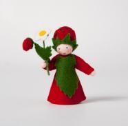Roemeense Vingerpopjes Aardbei Strawberry (Bloem in de hand)