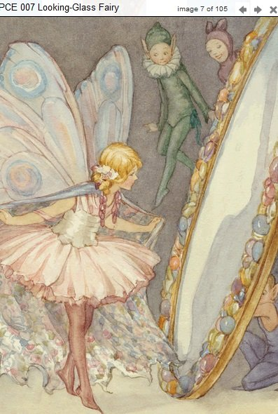 Margaret Tarrant Looking-Glass Fairy PCE 007