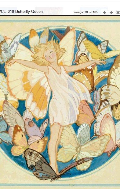 Margaret Tarrant Butterfly Queen PCE 010