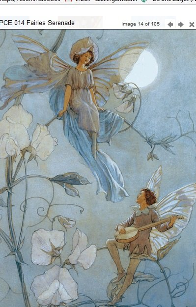 Margaret Tarrant Fairies Serenade PCE 014