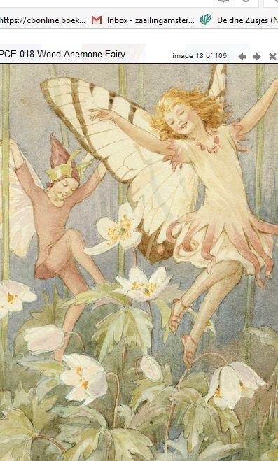Margaret Tarrant Wood Anemone Fairy PCE 018