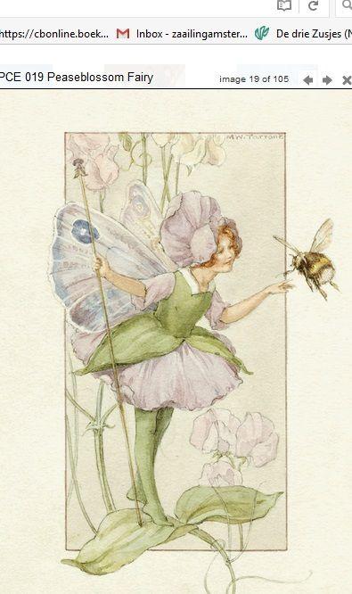 Margaret Tarrant Peaseblosom Fairy PCE 019