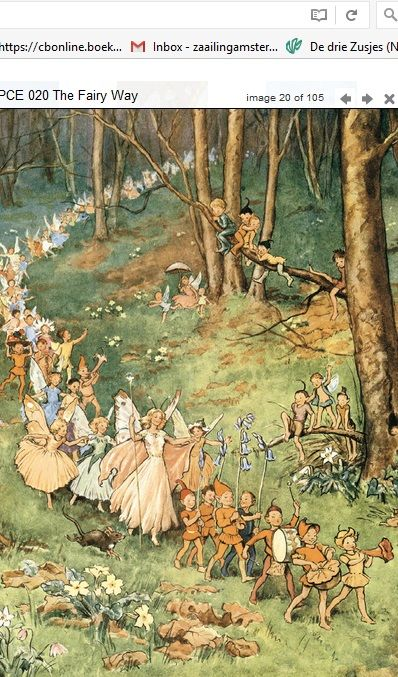 Margaret Tarrant The Fairy Way PCE 020