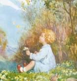 Poster Margaret Tarrant Spring Butterflies