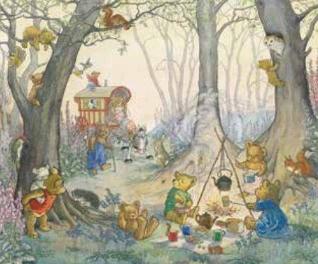 Poster Molly Brett Teddy Bear Camp MAS 848