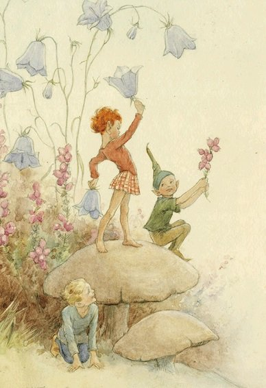Margaret Tarrant, Heatherbells and Harebells PCE 025