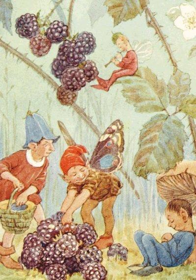 Margaret Tarrant, Blackberries PCE 028