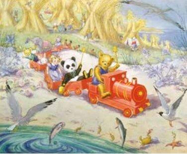 Poster Molly Brett, The Toys on Holiday MAS 871