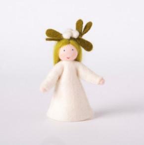 Roemeense Vingerpopjes Maretak meisje Mistletoe Girl