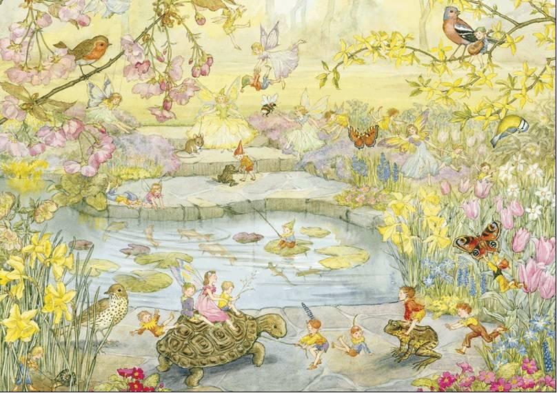 Molly Brett, Garden Magic PCE 042 Ansichtkaart