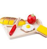 Snijset Ontbijt op dienblad NCT 10582