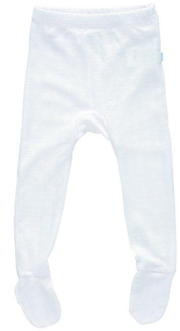 JOHA Joha Baby Legging met voeten wol/zijde 26490-197