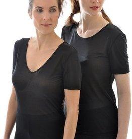 Alkena Zijden T-shirt (Glad)