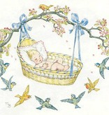 Molly Brett, A Baby in a Basket PCE 117