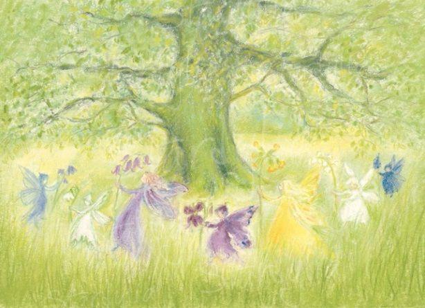 Marjan van Zeyl, Elfen-reidans met lentebloemen