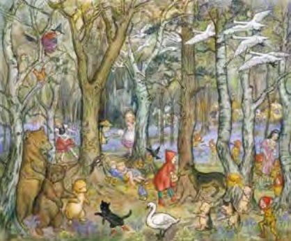 Poster Molly Brett, Fairy Tale Wood MAS 875