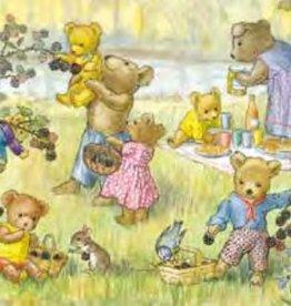 Poster Molly Brett, Teddy Bears and Blackberries MAS 467