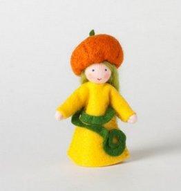 Roemeense Vingerpopjes Pompoen meisje Pumpkin Girl