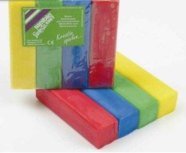 Weible Kneedwas Blok 4 kleuren 400 gram