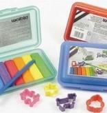 Weible Kneedwas Klikbox Mini Rol 6 kleuren + toebehoren